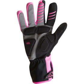 PEARL iZUMi Elite Softshell Gel Gloves Dame screaming pink